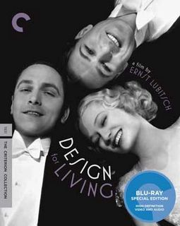 Design for Living (Blu-ray, Criterion Collection)