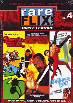 Rare Flix Triple Feature, Volume 4 (Boogie Vision