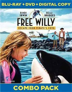 Free Willy: Escape from Pirate's Cove (Blu-ray +
