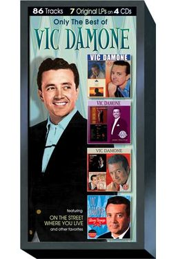 Only The Best of Vic Damone (4-CD)