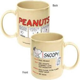 Peanuts - Snoopy 12 oz. Ceramic Mug