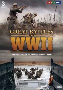 Great Battles of WWII (3-DVD)