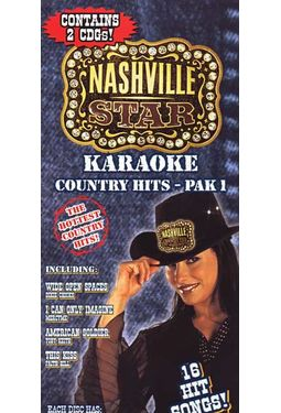 Karaoke Country Hits, Pak 1 (2-CD)