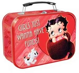 Betty Boop - Extra Large Tin Tote