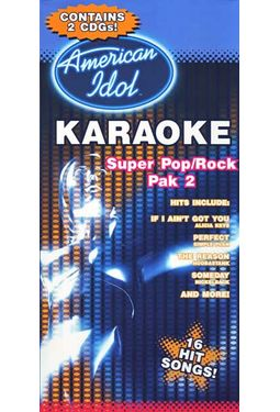 Karaoke Super Pop/Rock Hits, Pak 2 (2-CD)