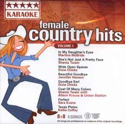 Female Country Hits, Volume 1