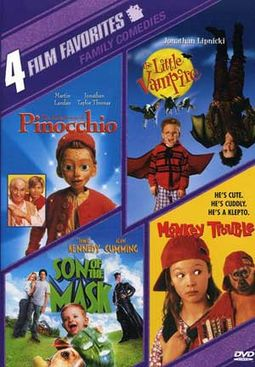 4 Film Favorites: Family Comedies (The Adventures