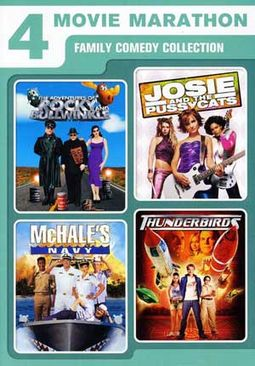 4 Movie Marathon: Family Comedy Collection (The