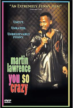 martin lawrence you so crazy dvd 1994 starring martin