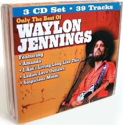 Only The Best of Waylon Jennings (3-CD)