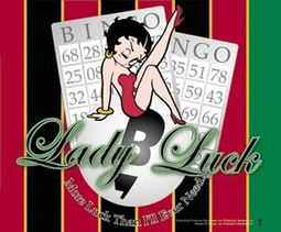 Lady Luck Mousepad