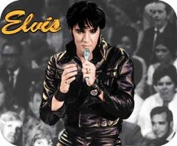 Elvis Presley - Elvis In Leather - Mousepad