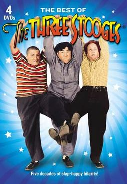 The Best of The Three Stooges (4-DVD)