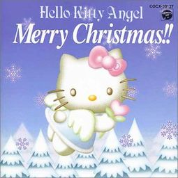 Hello Kitty Angel Merry Christmas