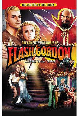 The Complete Adventures of Flash Gordon (4-DVD)