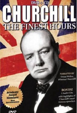 Churchill The Finest Hours Dvd Cd 1964 Columbia