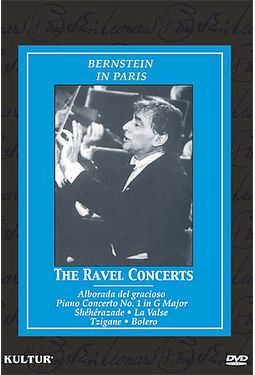 Bernstein in Paris - The Ravel Concerts