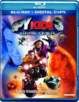 Spy Kids 3: Game Over (Blu-ray, Includes Digital