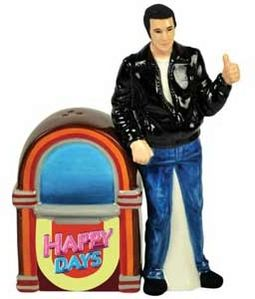 Happy Days - Fonz & Jukebox - Salt & Pepper