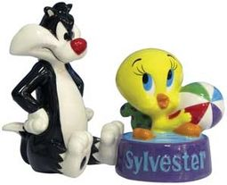 Looney Tunes - Tweety In Sylvester's Bowl Salt &