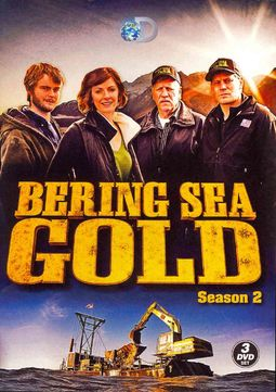Bering Sea Gold - Season 2 (3-DVD)