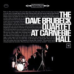 The Dave Brubeck Quartet At Carnegie Hall (2-CD)