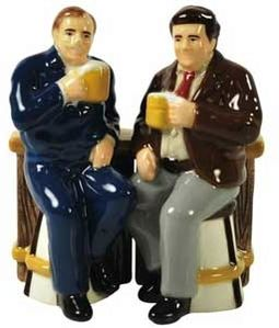 Cheers - Cliff & Norm Salt & Pepper Shakers