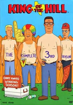 King of the Hill - Season 3 (3-DVD)
