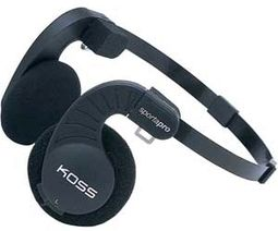 Koss Sporta-Pro Stereophones with Flexible