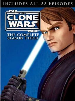 Star Wars: The Clone Wars - Season 3 (4-DVD)