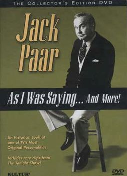 Jack Paar - As I Was Saying... And More!