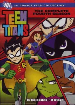 Teen Titans - Complete 4th Season (2-DVD)