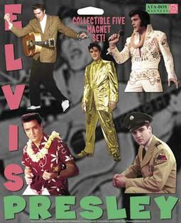 Elvis Presley - 5-Piece Magnet Set
