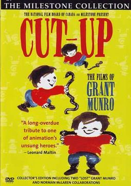 Cut Up - The Films Of Grant Munro (2-DVD)