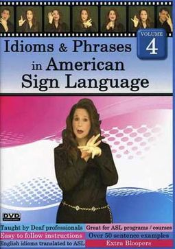 American Sign Language - Idioms & Phrases in