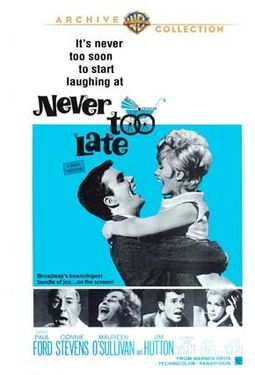 Never Too Late (Widescreen)