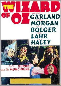 The Wizard of Oz - Beige Oz Film Poster Photo