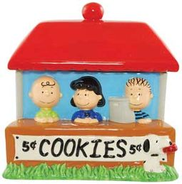 Peanuts - Cookie Jar: Cookie Stand