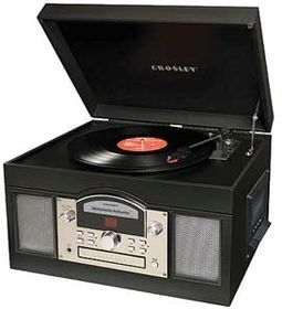 Crosley CR6001A-BK Archiver USB Turntable - Black