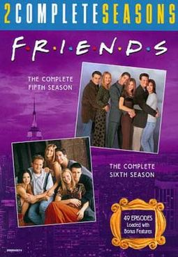 Friends - Complete 5th & 6th Seasons (8-DVD)