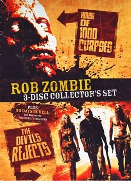 Rob Zombie 3-Disc Collector's Set (House of 1000