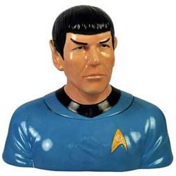Star Trek - Spock Cookie Jar