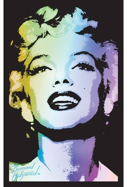 "Marilyn Monroe - Blacklight Poster (21-1/2"" x"