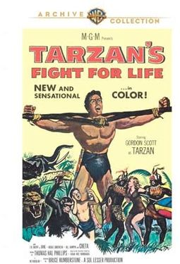 Tarzan's Fight for Life (Widescreen)