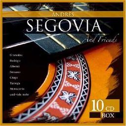 Andres Segovia and Friends [German Import] (10-CD)