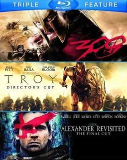 300 / Troy / Alexander Revisited (Blu-ray)