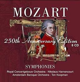 Mozart: Symphonies (8-CD-250th Anniversary