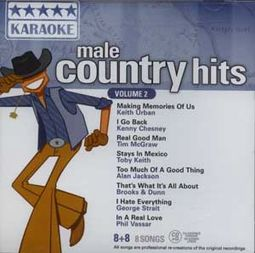 Male Country Hits, Volume 2