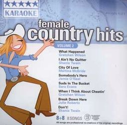 Female Country Hits, Volume 2