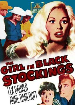 The Girl in Black Stockings (Full Screen)